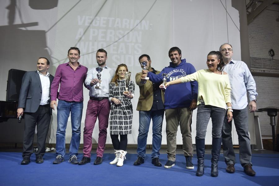 Dodela pobednicima IV Festivala sireva, sa predsednikom žirija za inovacije