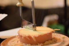 7. Tete de Moine was presented within the lecture on Swiss cheeses